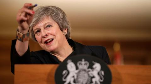 May rules out second vote amid revolt over Brexit deal