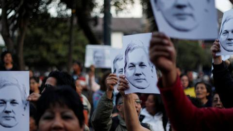 US prosecutors get indictment against Wikileaks' Assange