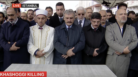 Funeral prayers held for Jamal Khashoggi