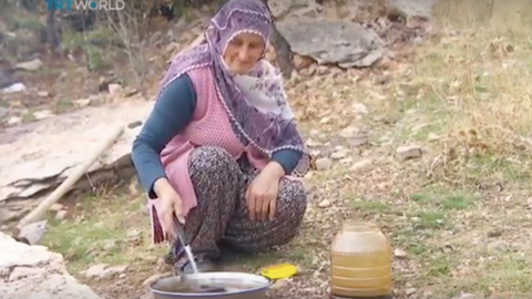 Tradition of making grape molasses lives on in central Turkey