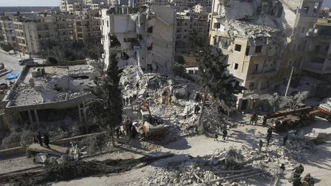 Syrian regime steps up attacks in demilitarised zone - opposition
