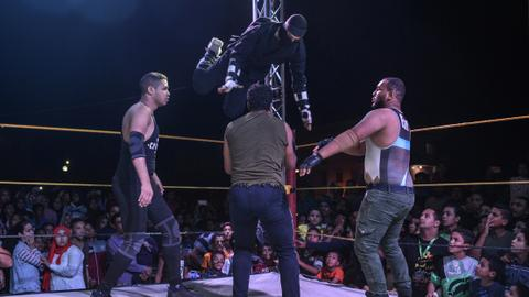 Pro-wrestling in Egypt hopes for international recognition