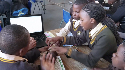 Coding for children in South Africa shows a glimpse of the future