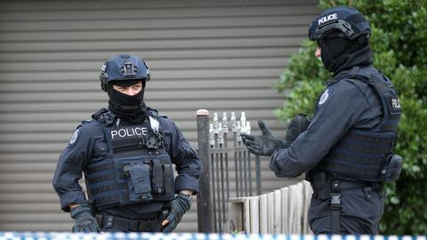 Australia arrests three on terrorism charges in Melbourne