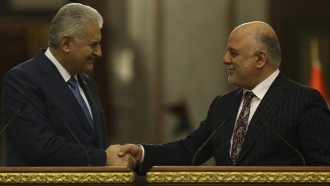 Turkish PM and Iraqi counterpart agree on future of Bashiqa