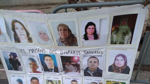 Tunisian families want their missing loved ones back