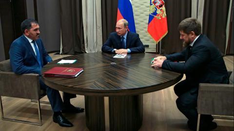 Chechnya-Ingushetia territorial tensions benefit Putin