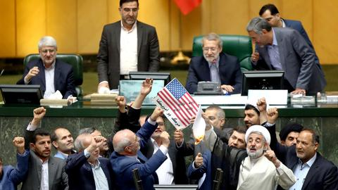 Trump's anti-Iran rhetoric brings differing voices in Tehran together