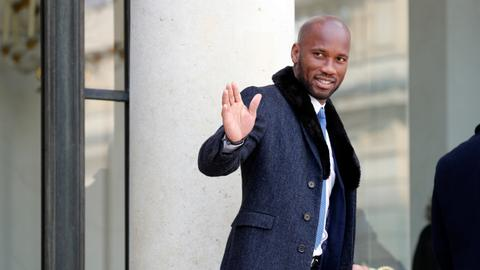 Football legend Didier Drogba retires