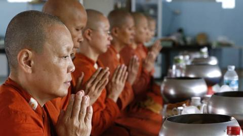 Thailand's monks battle weight problems