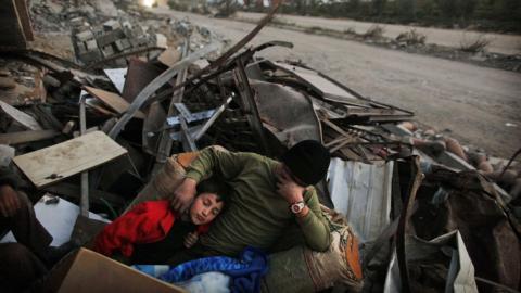 Almost 80,000 still displaced in Gaza Strip, UN warns