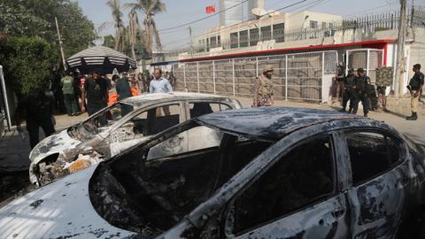 Gun, bomb attacks leave dozens dead in Pakistan