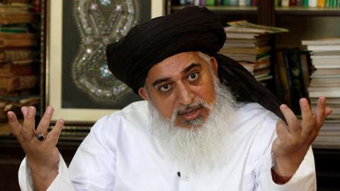 Pakistan arrests cleric whose followers shut down cities over blasphemy
