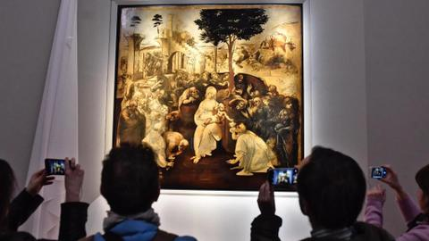 Political row threatens plan to loan Leonardo da Vinci's works to Louvre
