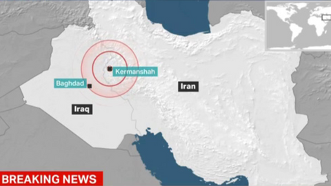 Iran quake injures hundreds, but no deaths reported - state TV