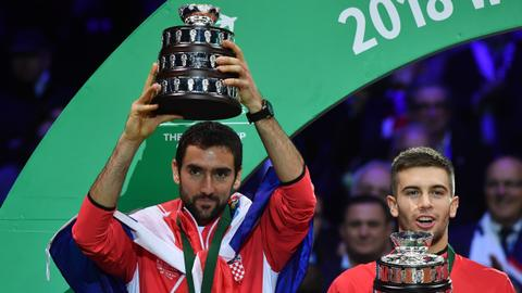 Cilic gives Croatia Davis Cup victory over France