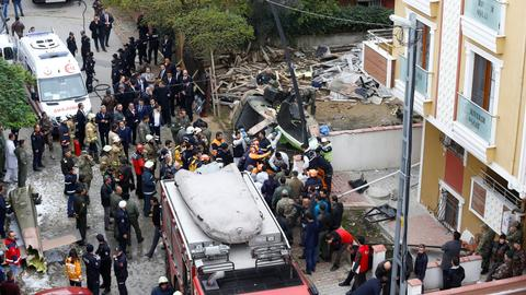 Four Turkish soldiers killed in military helicopter crash