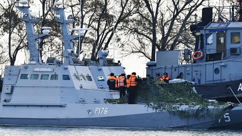 Russian seizure of Ukrainian vessels sinks bilateral ties