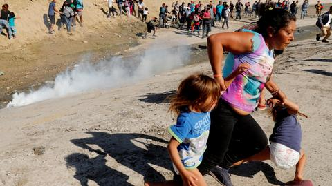 Mexico calls for 'full investigation' of US tear gas at border