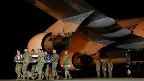 Three US soldiers killed in Afghanistan as Geneva conference on war starts