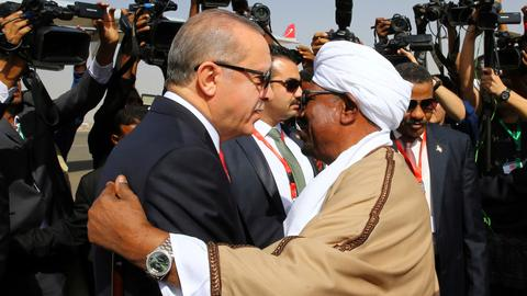 Turkey's relationship with Sudan is making waves in the Red Sea region