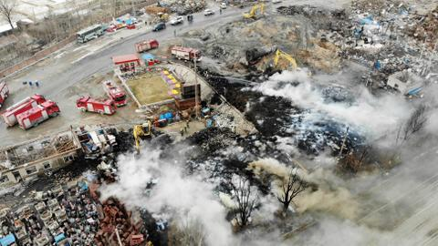 Blast kills 22 near north China chemical plant - official