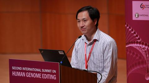 Chinese geneticist 'feels proud' of baby-gene editing