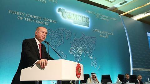 President Erdogan calls for Muslim unity