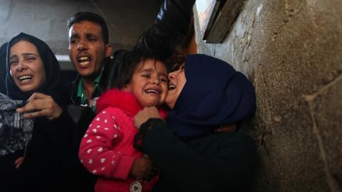 Hundreds of injured Gazans at risk of infection