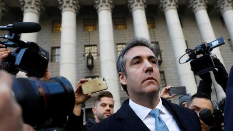 Michael Cohen pleads guilty to lying to US Congress