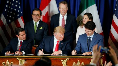 US, Mexico and Canada sign new trade agreement
