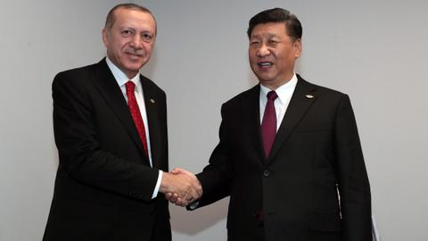 Turkish President Erdogan meets Chinese, Dutch leaders at G20 summit