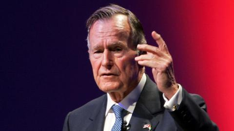 Former US president George H.W. Bush dead at the age of 94