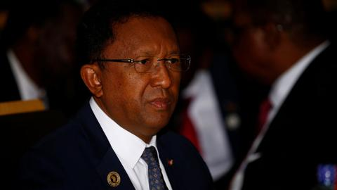 Madagascar president concedes defeat in polls