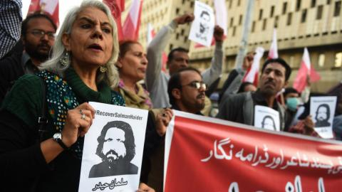 What's happening to activists in Pakistan?