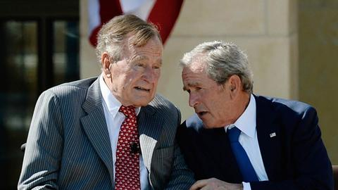 George Bush Sr: Speaking ill of the dead