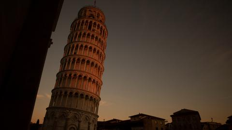 Engineers are straightening the Leaning Tower of Pisa over the years