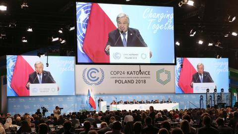 UN chief issues dramatic climate appeal to world leaders