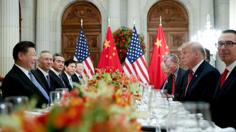 US envoys due in Beijing for talks on trade war