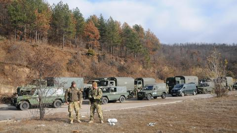Tensions soar in the Balkans over plans for Kosovo army