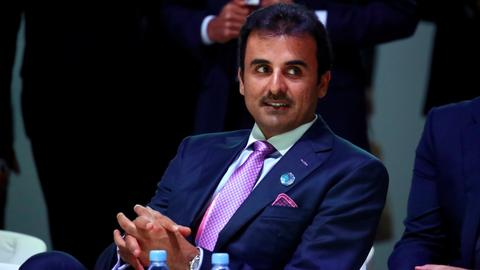 Qatari emir al Thani not to join the Gulf summit in Saudi Arabia