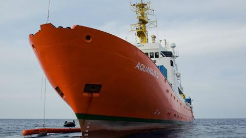 Aquarius migrant rescue ship quits after facing 'sustained campaign'