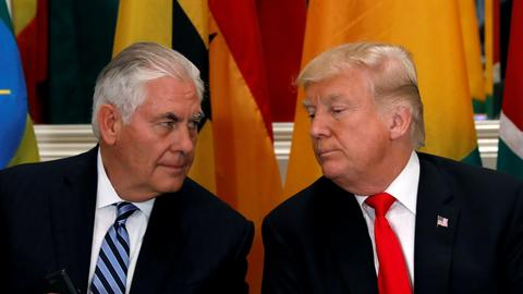 Trump slams former secretary of state Tillerson