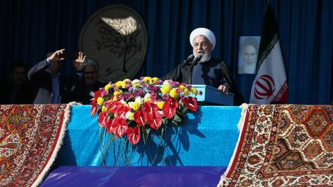 US sanctions are 'economic terrorism,' Iran's Rouhani says