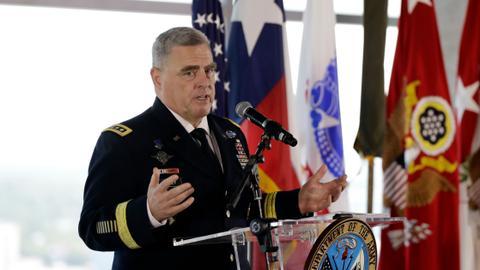 Trump picks Army chief of staff as next top military adviser