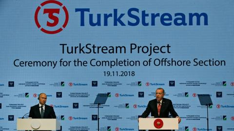 European Union preventing extension of Turkstream to Greece: Tsipras