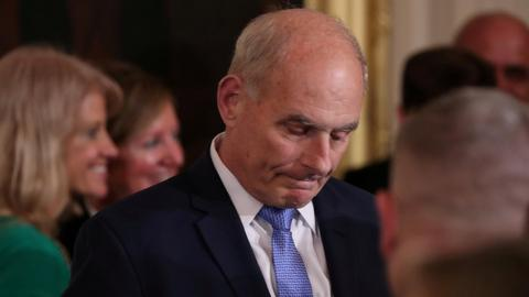 Trump says chief of staff John Kelly to leave at year's end
