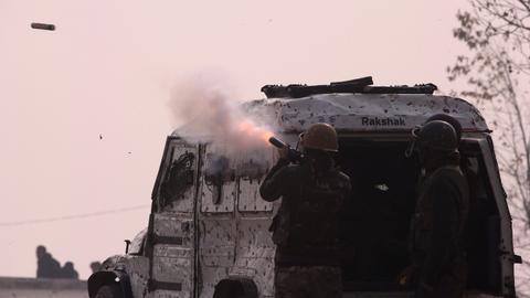 Indian troops kill three suspected rebels in 18-hour-long Kashmir fighting