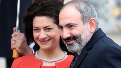 Armenia premier's bloc winning vote, early returns show