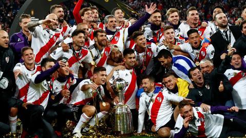 River Plate wins Copa Libertadores
